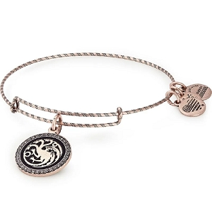 GAME OF THRONES Fire and Blood Charm Bangle