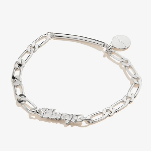 Harry Potter Always Stretch Bracelet Shiny Silver