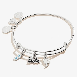 Barbie Trio Charm Bangle Shiny Silver
