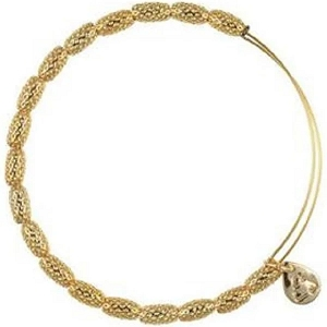Indus Bangle Yellow Gold
