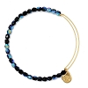 Rock Candy Bangle Midnight Yellow Gold
