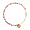 Rock Candy Bangle Blush Shiny Gold