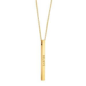 Necklace Believe Gold