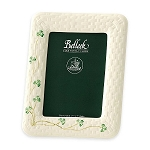 Belleek Shamrock Photo Frame 10