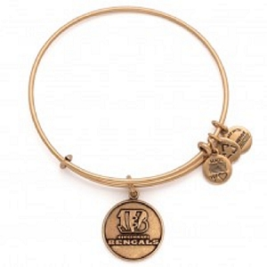 Cincinnati Bengals Logo Charm Bangle Rafaelian Gold