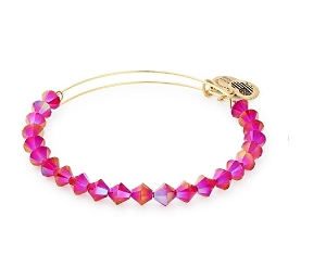 Berry Beaded Bangle Gold