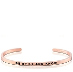 Be Still And Know Rose Gold