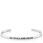Be Still And Know Silver