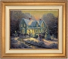 Thomas Kinkade Blessings Of Christmas 20 x 24 Canvas