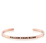 Follow Your Bliss Rose Gold