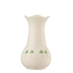 Belleek Shamrock Lace Vase 7