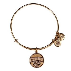 Brown University Mascot Charm Bangle Rafaelian Gold