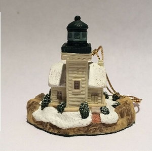 Harbour Light Burrows Island Washington Ornament 7043