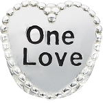 Candy Hearts One Love Charm 2020-0788