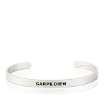 Mens Carpe Diem Silver