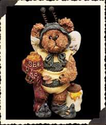 Boyds Bears Sunny Buzzby Bee Happy Ornament 25714