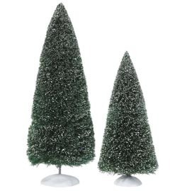 Village Bag O Frosted Topiaries Large 53018