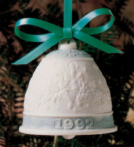 1992 Annual Christmas Bell Ornament 5913