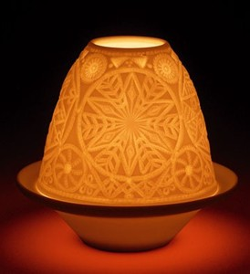 Lithophanes Snowflake Votive 17310