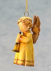 Hummel Goebel 1998 Echoes Of Joy Angel Ornament 1191