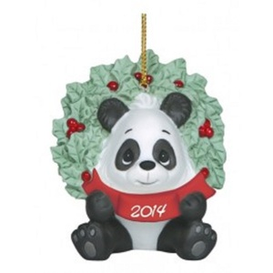 Precious Moments Happy Holly Days Dated 2014 Ornament 141007