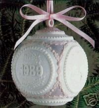 1989 Annual Ball Ornament Dated 5656