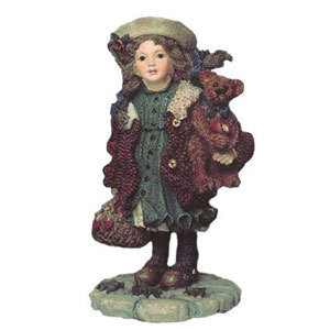 Boyds Dollstones Yesterdays Child Candice Apples 3514