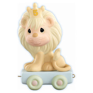 Precious Moments Birthday Train Age 5 142025 Lion
