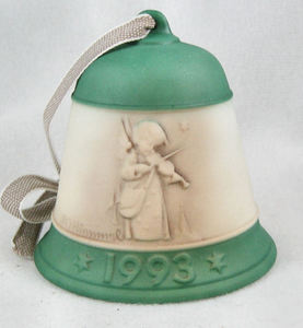 Goebel Hummel 1993 Annual Christmas Bell Ornament