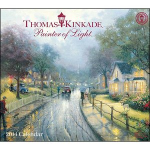 Thomas Kinkade Painter of Light 2014 Wall Calendar