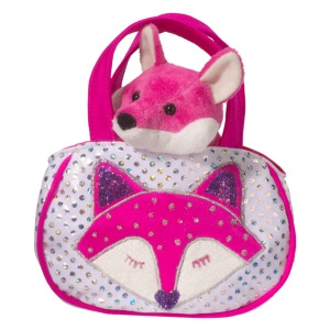 Shimmering Fox Sak With Pink Fox 2155