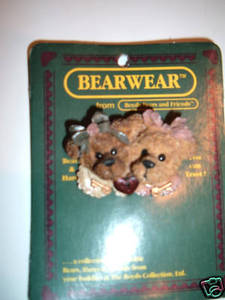 Boyds Bear Diary Secretes Pin 26107