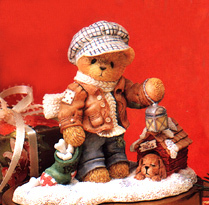 Cherished Teddies Christmas Rich 352721