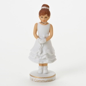 Growing Up Girls First Communion Brunette 4006952
