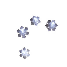 String Of 4 Snowflake Lights 4020258