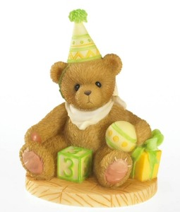 Cherished Teddies Birthday Collection Age 3 4020574