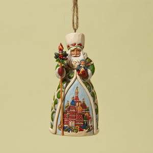 Russian Santa Ornament 4022942