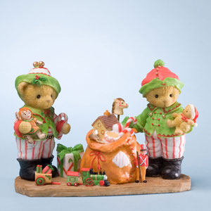 Cherished Teddies Stuart and Alan 4023653