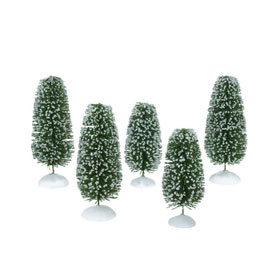 Wonderland Shrubs Medium Set of 4 4025361