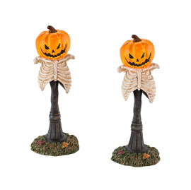 Creepy Pumpkin Street Lights 4025405