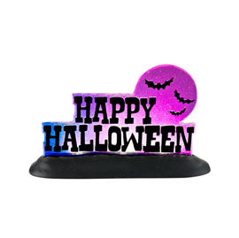 Happy Halloween Lit Sign 4025407