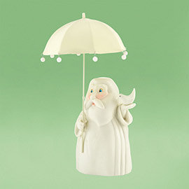 Snowbabies Noahs Ark And the Rain Came Noah 4025680