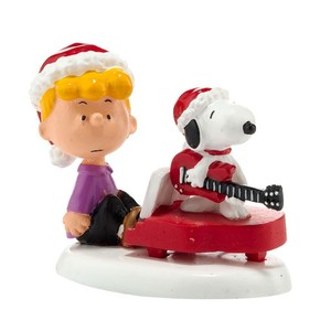 Department 56 Peanuts Schroeder Snoopy Christmas Jam 4026955