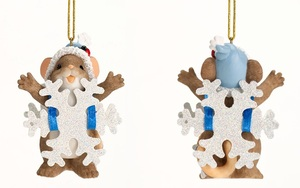 Charming Tails Blizzard of Blessings Ornament 4027665