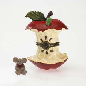 Boyds Bearstones Bailey's Apple Cortland McNibble 4029453