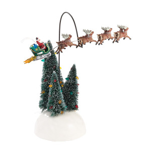 Department 56 Animated Flaming Sleigh 4030744