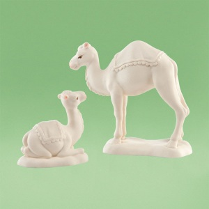 Snowbabies Noahs Ark Camel Kisses Set Of 2 4031896