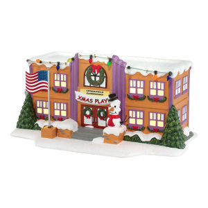 Department 56 Simpsons Springfield Elementary School 4032215