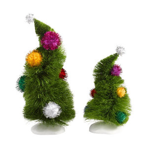 Grinch Wonky Trees Set 2 4032417