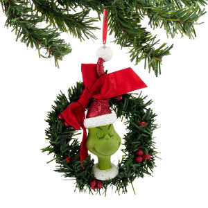 Grinch Sisal Wreath Ornament 4032925